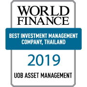 World Finance 2019 : Best Investment Management Company, Thailand